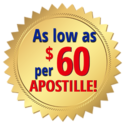 apostille birth certificate